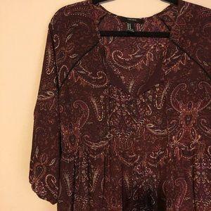 Forever 21 Paisley Dress